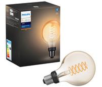 Philips Hue Ampoule à filament White Globe E27 Bluetooth