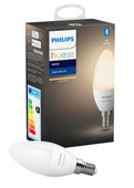 Philips Hue Kaarslamp Warmwit Licht E14 Single Pack Bluetooth