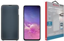 Samsung Galaxy S10e 128 GB Zwart + Beschermingspakket