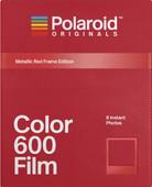 Polaroid Originals Instant Photo Paper Color Film 600 Metallic Red / Gold