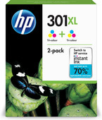 HP 301XL 3-Color Twin Pack (D8J46AE)