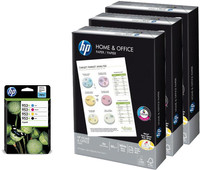 HP 953XL Combo Pack + 1500 sheets