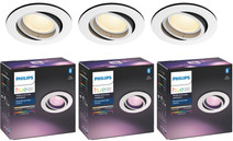 Philips Hue Centura Inbouwspot White & Colour rond wit 3-Pack