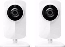 KliKAanKlikUit WiFi IP Camera with Night Vision Duo Pack