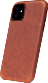 Decoded Apple iPhone 11 Back Cover Leer Bruin