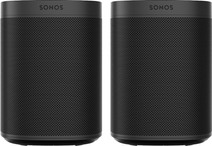 Sonos One SL Duo Pack Zwart