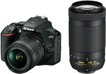 Nikon D3500 + AF-P DX 18-55 mm f/3.5-5.6G VR + AF-P DX 70-300 mm f/4.5-6.3G ED VR