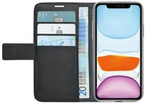 Azuri Wallet Apple iPhone 11 Book Case Zwart