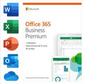 Microsoft Office 365 Zakelijk Premium 1 jaar Abonnement FR