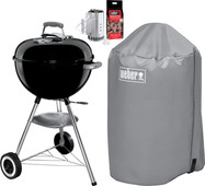 Barbecuepakket Weber Original Kettle 47 cm Zwart