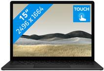 """Microsoft Surface Laptop 3 15"""" - 8 Go - 256 Go Noir Azerty"""