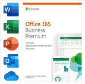 Microsoft Office 365 Business Premium 1 year Subscription NL