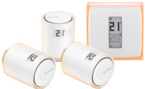 Netatmo Thermostaat + Netatmo NAV-EN 3-Pack
