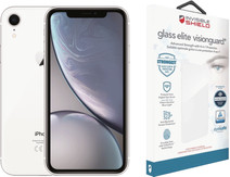 Apple iPhone Xr 64 GB Wit + InvisibleShield Glass+ VisionGuard screenprotector
