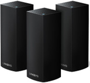 Linksys Velop Tri-band Multi-room WiFi Black (3 stations)