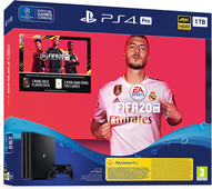 Sony PlayStation 4 Pro 1 TB + FIFA 20/ PS+ 14 dagen