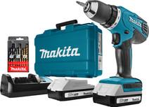 Makita DF457DWE + Makita 9-delige Borenset