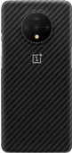 OnePlus 7T Karbon Protective Case Back Cover Black