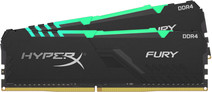 Kingston HyperX Fury RGB 16GB DDR4 DIMM 2666MHz CL16 (2x8 GB)