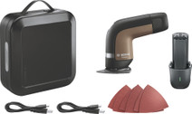 Bosch YOUseries Schuurmachine + accu en usb-C kabel