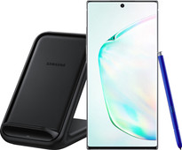 Samsung Galaxy Note 10 Plus 256GB Silver + Samsung Wireless Charger Stand 15W