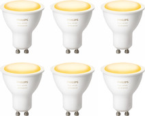 Philips Hue White Ambiance GU10 Bluetooth Lot de 6