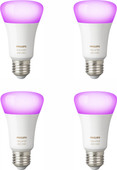 Philips Hue White and Color E27 Bluetooth Lot de 4