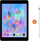 Apple iPad (2018) 128 Go Wi-Fi Gris sidéral + Pencil