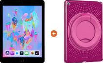 Apple iPad (2018) 32 GB Wifi + Tech21 Evo Play2 Back Cover Roze