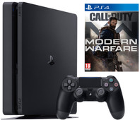 Sony Playstation 4 slim 1TB + Call of Duty: Modern Warfare