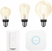 Philips Hue Filamentlamp White E27 Bluetooth Starter Pack