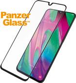 PanzerGlass Protège-écran Case Friendly Samsung Galaxy A40 Verre Noir