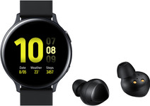 Samsung Galaxy Watch Active2 Zwart 44 mm + Samsung Galaxy Buds Zwart