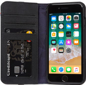 Decoded Leather Wallet Case for iPhone 8/7 Black