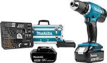 Makita DDF453RFX2 + 2 accu's