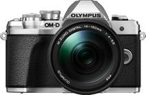 Olympus OM-D E-M10 Mark III Zilver + 14-150mm f/4-5.6 Zwart