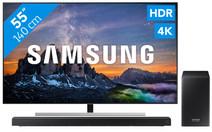 Samsung QE55Q80R - QLED + Soundbar