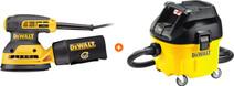 DeWalt DWE6423-QS + DeWalt DWV901L-QS