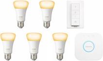Philips Hue White Ambiance Starter Pack met Dimmer - 5 lampen