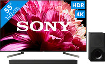 Sony KD-55XG9505 + Soundbar