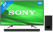 Sony KD-49XG8305 + Soundbar