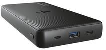 Trust Mobile Primo Batterie Externe Sans Fil 20 000 mAh Noir