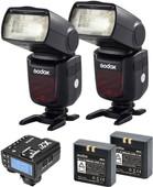 Godox Speedlite V860II Fujifilm Duo X2 Trigger Kit