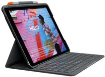 Logitech Slim Folio Apple iPad (2019) Toetsenbord Hoes AZERTY