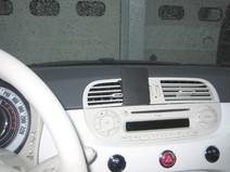 Brodit ProClip Fiat 500 2007-2011 Fixation Centrale