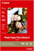 Canon PP-201 Glossy Plus Photo Paper 20 Sheets A3