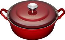 Le Creuset Faitout Dutch Oven 28cm Cherry Red