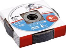 Kreator Metal cutting disc 115 mm 6 pieces
