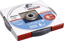 Kreator Disque à meuler Métal 230 mm 6 pièces