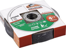 Kreator Grinding wheel stone 115 mm 6 pieces